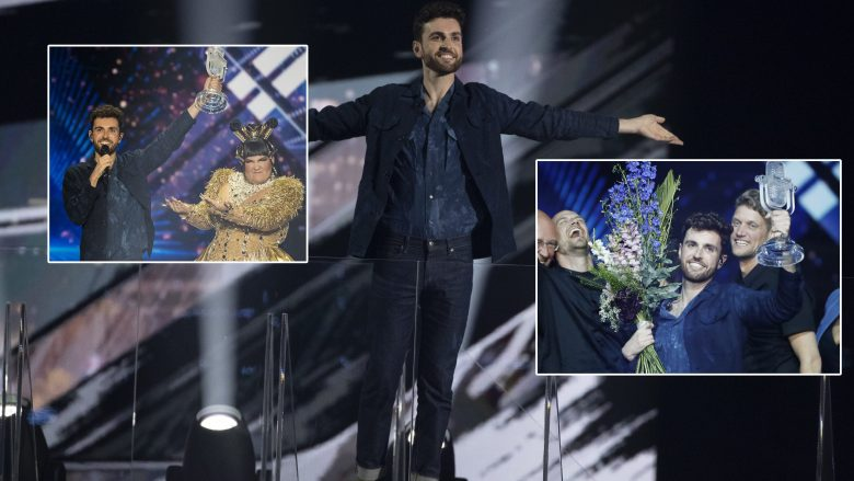 """Fituesi i """"Eurovision 2019"""", Duncan Laurence (Foto: Michael Campanella/Getty Images/Guliver)"""