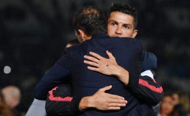 Ronaldo i sugjeron Juventusit transferimin e Mourinhos