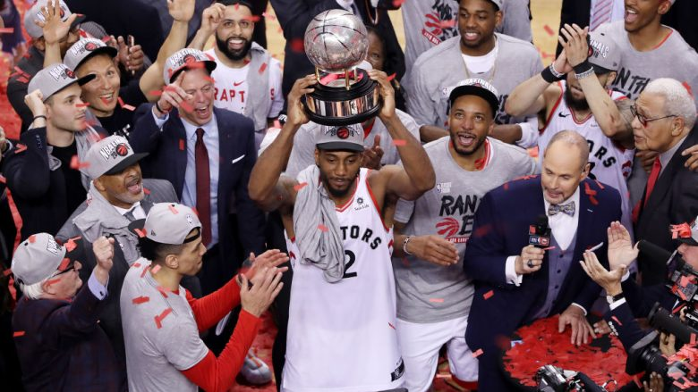Kawhi Leonard. (Photo by Claus Andersen/Getty Images)