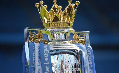 Njëri kopje dhe tjetri origjinal, Liga Premier i ka vendosur dy trofe në dy stadiume të ndryshme në pritje të kampionit të ri në Angli