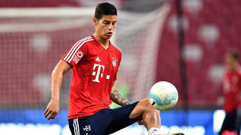James Rodriguez (Foto by Thananuwat Srirasant/Getty Images  for ICC/Guliver)