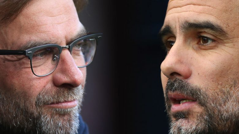 Jurgen Klopp, Pep Guardiola (Foto: Clive Brunskill/Getty Images/Guliver)