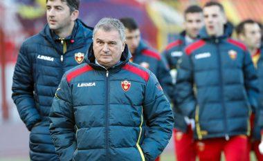 Trajneri i Malit të Zi, Tumbakovic: Kam makthe për ndeshjen ndaj Kosovës
