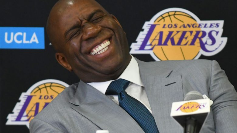 Magic Johnson (Foto by Jayne Kamin-Oncea/Getty Images/Guliver)