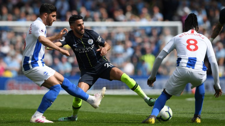 Riyad Mahrez (Foto: Mike Hewitt/Getty Images/Guliver)