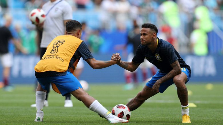 Philippe Coutinho dhe Neymar (Foto: Buda Mendes/Getty Images/Guliver)