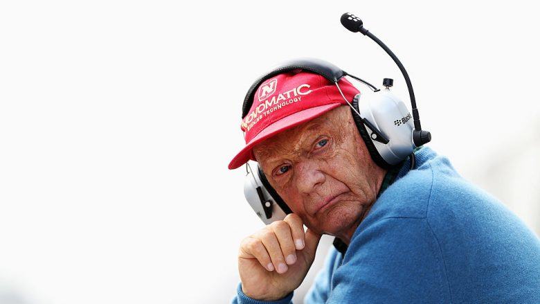 Niki Lauda (Foto by Mark Thompson/Getty Images/Guliver)