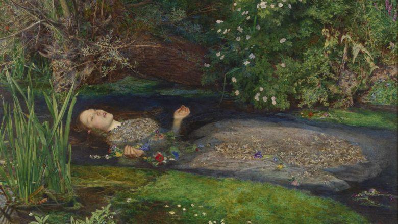 Elizabeth Siddall, si Ofelia e Sir John Everett Millaisit