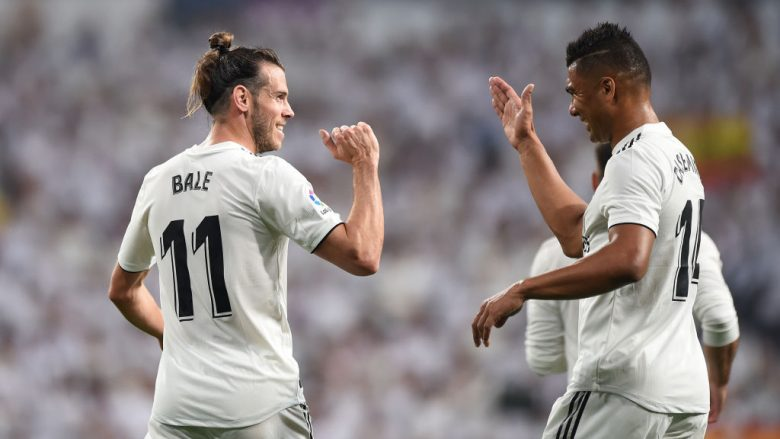Gareth Bale dhe Henrique Casemiro (Foto by Denis Doyle/Getty Images/Guliver)