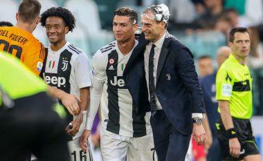 Allegri me statistika mbresëlënëse te Juventusi, por kurrë nuk u vlerësua për punën e tij