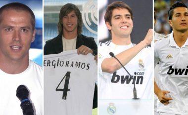 Analizë e transferimeve të Real Madridit nën epokën e Florentino Perezit si president - 73 blerje nga 21 vende të ndryshme, 30 prej tyre mesfushorë