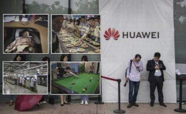 Brenda gjigantit Huawei, firmës me të ardhura vjetore 100 miliardë dollarë – aty ku punëtorët flenë nën tryezat e punës (Foto)
