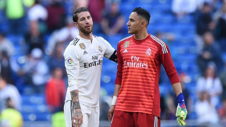 Sergio Ramos dhe Keylor Navas (Foto: Denis Doyle/Getty Images/Guliver)