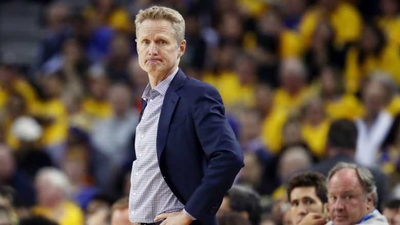 Steve Kerr (Foto by Ezra Shaw/Getty Images/Guliver)