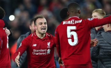 Shaqiri nuk di si ta përshkruajë fitoren e Liverpoolit: Është e mahnitshme ajo që ndodhi këtu, jam i tronditur!