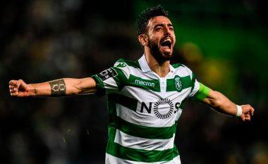 Unitedi rivalizon Cityn për Bruno Fernandesin