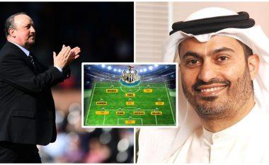 Formacioni i mundshëm i Newcastle, nëse blihet për 379 milionë euro nga sheiku arab