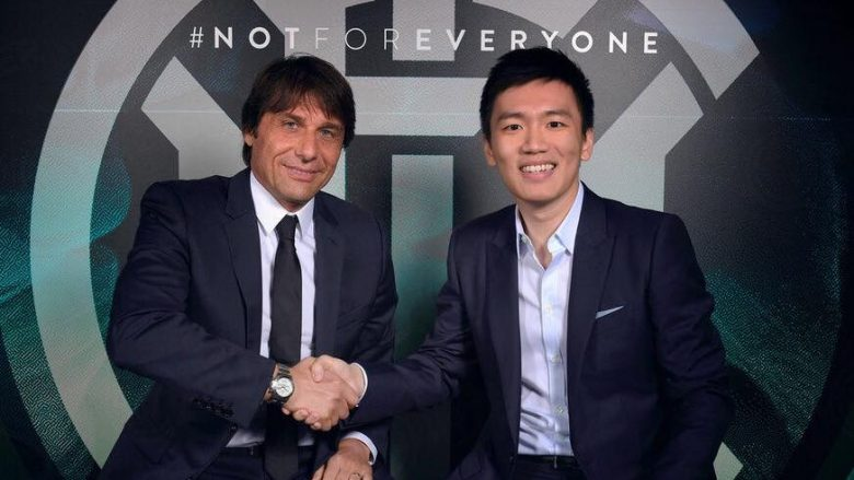 Conte dhe Steven Zhang (Foto: Inter.it)