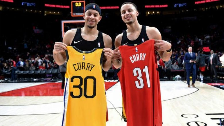 Seth dhe Stephen Curry