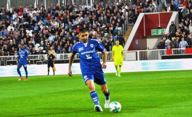 Armend Dallku i jep fund karrierës si futbollist: 535 ndeshje, 151 me Prishtinën, 61 me Kombëtaren shqiptare