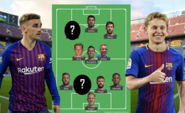 Formacioni i mundshëm i Barcelonës për sezonin e ri me tri transferime