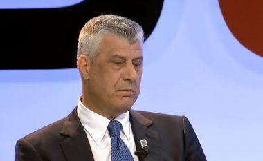 Thaçi: Nëse BE nuk na hap dyert, fillojnë veprimet institucionale për bashkimin e Kosovës me Shqipërinë (Video)