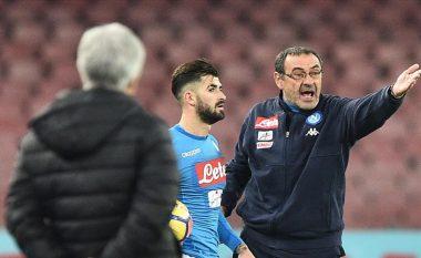 Sarri mund t'i marrë te Lazio dy yje të Napolit, Hysaj njëri nga ta