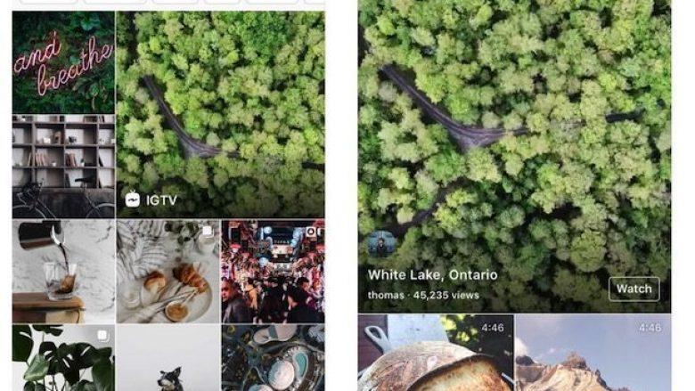 Instagram shton 'Stories' në sektorin Explore
