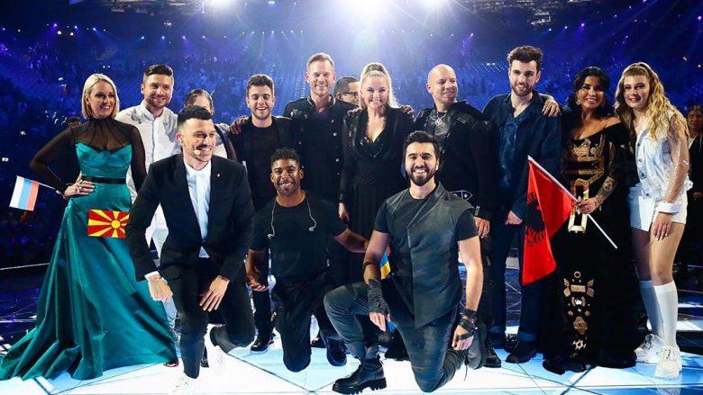 """Këngëtarët e natës së dytë gjysmë-finale të """"Eurovision 2019"""", që u kualifikuan në finale (Foto: Instagram)"""