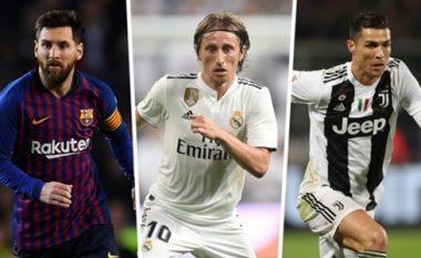 Krahasimet e statistikave të Messit në sezonit 2018-19 me tre finalistët e Topit të Artë 2018, argjentinasi thuajse më i mirë se të tre së bashku