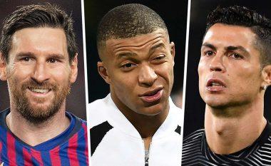 Dhjetë lojtarët më të vlefshëm në botë momentalisht - Mbappe i pari, Messi i katërti, Ronaldo as në 'top 10'