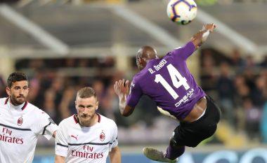 Milani fiton ndaj Fiorentinas, mban shpresat gjallë për Ligën e Kampionëve