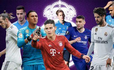 Real Madridi do të investojë rreth 600 milionë, por synon t'i fitojë 300 milionë tjera nga shitja e 13-të lojtarëve - shumë yje në listë
