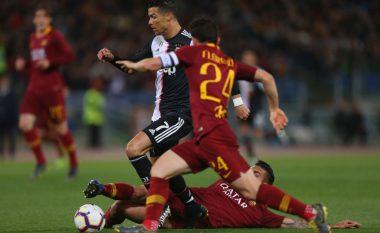 Roma fiton ndaj Juventusit, mban gjallë shpresat për Ligën e Kampionëve