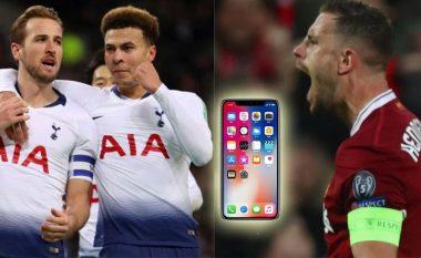 Lojtarët e Liverpoolit dhe Tottenhamit i ndërpresin kontaktet para finales së Ligës së Kampionëve