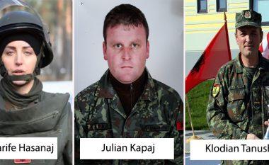 Profili i tre ushtarakëve të Ushtrisë së Shqipërisë që u përfshinë nga shpërthimi i minës në Letoni