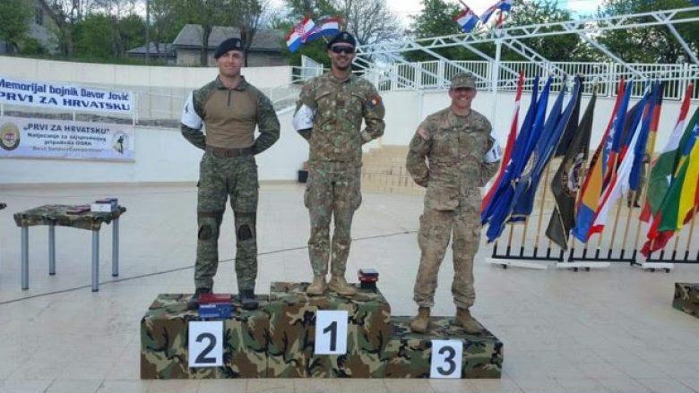 Tetari i FSK-së fiton vendin e dytë në Garën Ushtarake Ndërkombëtare në Kroaci