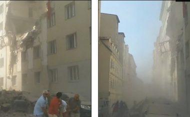 Lëndohen 12 persona nga shpërthimi i gazit në Vjenë, shkatërrohen dy ndërtesa (Video)