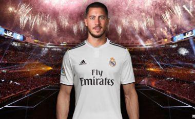Prezantimi i Eden Hazard te Real Madridi më i madh se i Cristiano Ronaldos dhjetë vite më parë