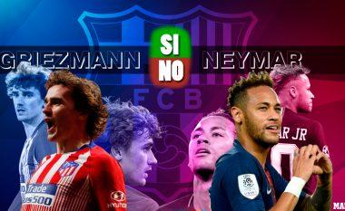 Griezmann apo Neymar te Barcelona: Pesë gjërat pro dhe kundër për transferimin e tyre