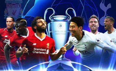 Statistika, analizë dhe parashikim: Tottenham - Liverpool