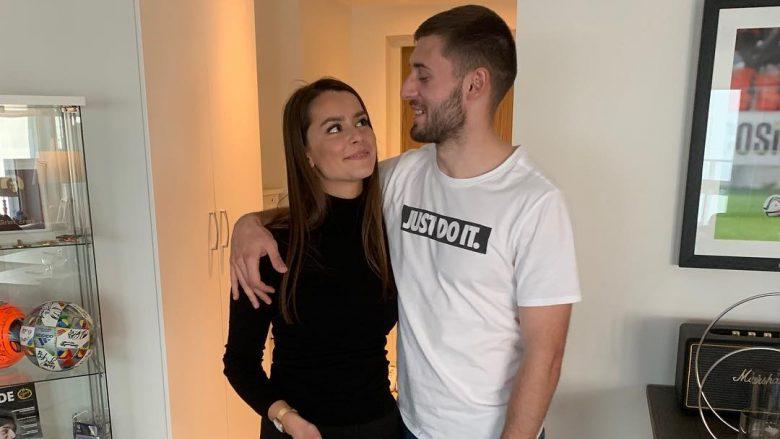 Majlinda Hoda dhe Arbër Zeneli (Foto: Instagram/azeneli17)