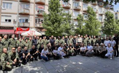 Ushtarët dhe Policët dhurojnë gjak në ditën ndërkombëtare të Dhurimit të Gjakut (Video)