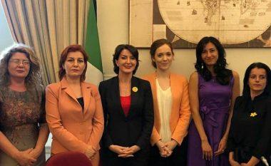 Jahjaga: Në Itali shpalosëm kërkesën për ndëshkim të krimeve serbe në Kosovë