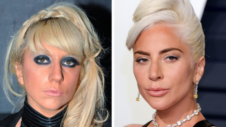 8. Lady Gaga, 2009 and 2019