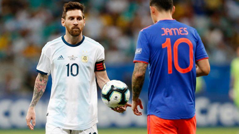 Lionel Messi dhe James Rodriguez (Foto: Wagner Meier/Getty Images/Guliver)