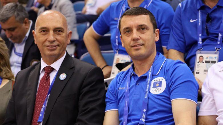 Besim Hasani dhe Kujtim Gashi (Foto: Kosovo National Olympic Committee)