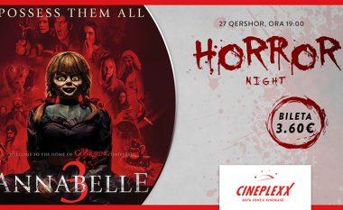"Cineplexx organizion ""Horror Night"" me filmin e fikshëm Annabelle 3"
