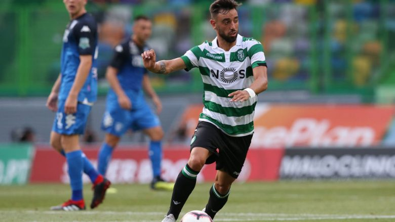 Bruno Fernandes.  (Photo by Gualter Fatia/Getty Images)