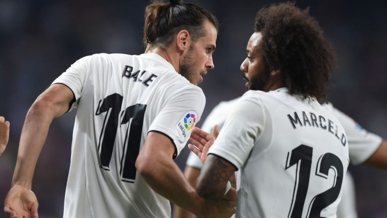 Gareth Bale e Marcelo . (Photo by Denis Doyle/Getty Images)